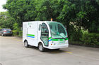 Small Electric Utility Vehicles 2 Seats Sanitation Car With Door Using Road Sweeper