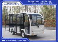 Resort 8 Seater Electric Car , Closed Door Type Electric Sightseeing Bus Y081A-M