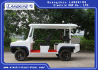 Durable Electric Patrol Car 5 Seater Electric Car With Light On Roof 48V/4KW