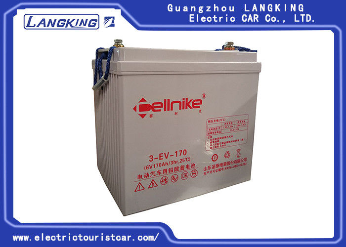 Factory best selling 6V/170AH golf cart battery/ Maintenance-free battery /dry battery for electric car